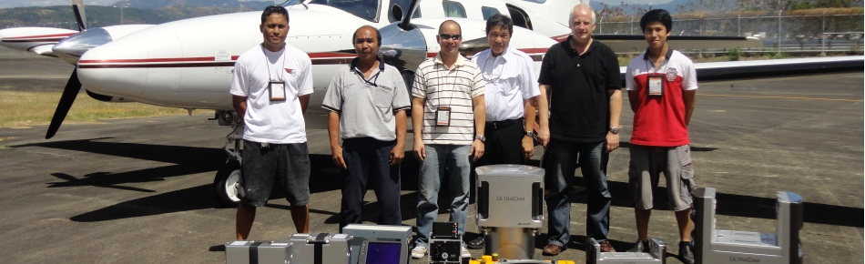 aerial mapping project asia