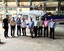AERIAL SURVEY BASE CLIENT GROUP MEETING NEW DELHI INDIA INDIAN AIRFORCE