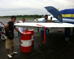 Refueling aircraft Phillippines