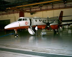Jetstream J41 aerial mapping aircraft, aerial survey airplane