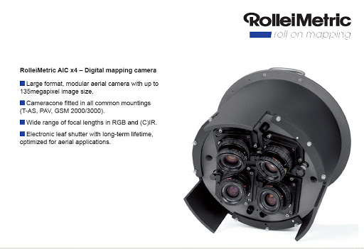 Trimble RolleiMetric AIC aerial camera