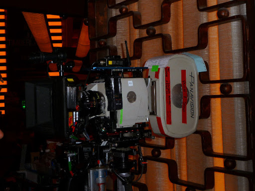 Stargate Atlantis Making off, Camera, Wraith filming, Planet Holywood, Las Vegas