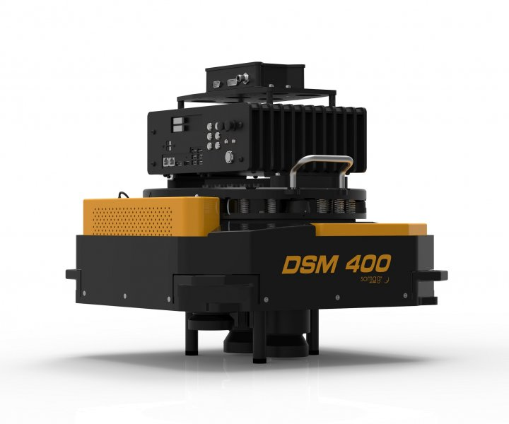 Somag DSM 400 gyro mount Phase-One iXU-RS1900