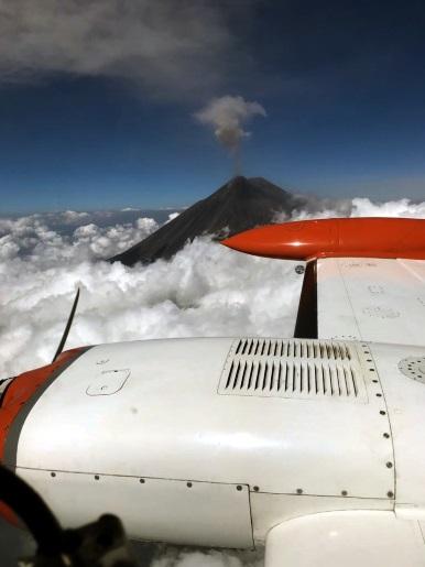 Popocatépetl Volcano Mexico