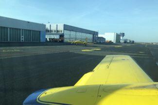 Hansa Luftbild dual hatch survey aircraft